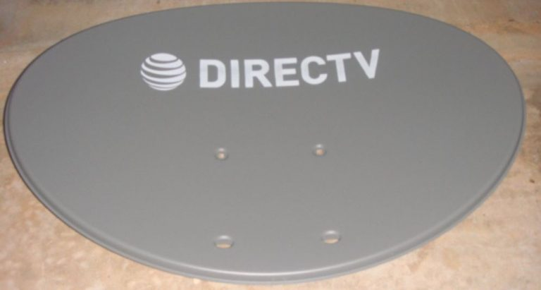 how directv installed reflector