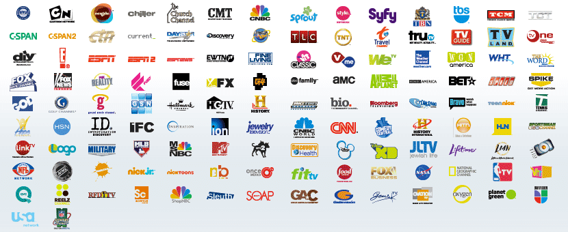 What channels are in dish welcome package