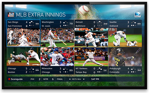 mlb network directv multiple games